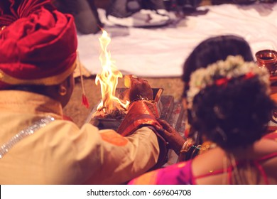 Bride and groom hand , Indian wedding Photography