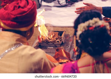 Bride and groom hand , Indian wedding Photography
