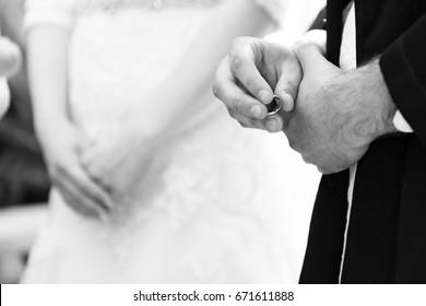 Bride and Groom - Jewish Wedding