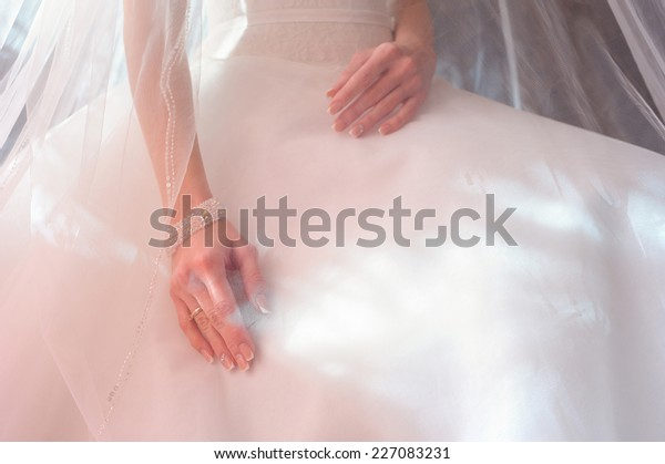 Woman Under Veil Stock Of Fabric Hand Beautif Family Sinners 1