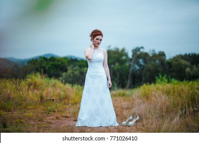 Bride Session in Forest