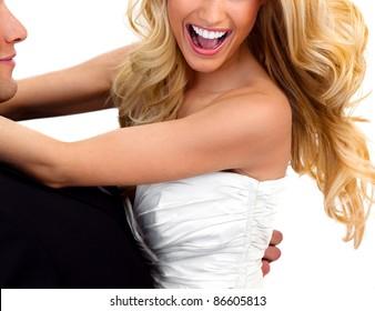 Bride Smiling Woman Teeth 2