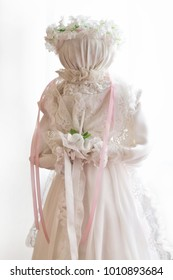 Bride. Ukrainian doll motanka. Handmade dolls.