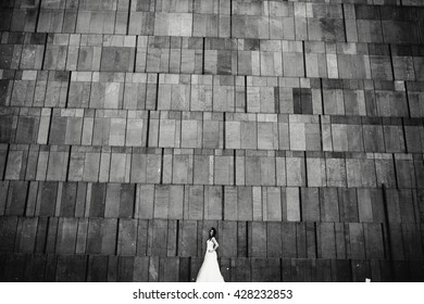 The bride in the walls of the museum