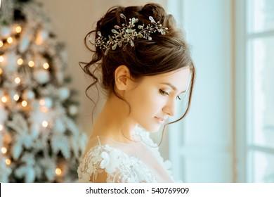 Elegant Bride Portrait Images Stock Photos Vectors Shutterstock