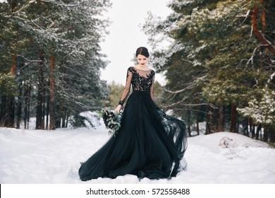 Black Wedding Dress Hd Stock Images Shutterstock