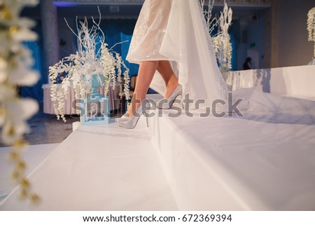 1ee39ff0181 Brides Feet Stock Photo (Edit Now) 672369394 - Shutterstock