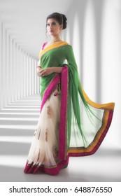 Bride'smaid in saree