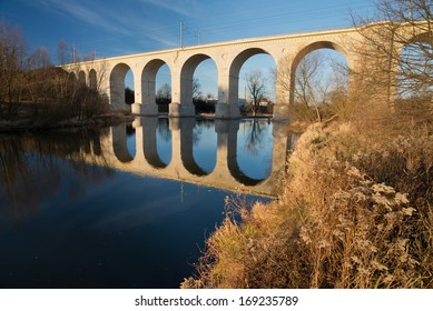 Bridge from 1846 in Boleslawiec, Poland.