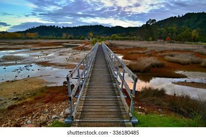 Bridge in Abel Tasman - Shutterstock ID 336180485