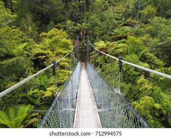 Bridge in the Abel Tasman National Park, New Zealand