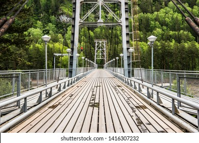 Bridge across the Katun River