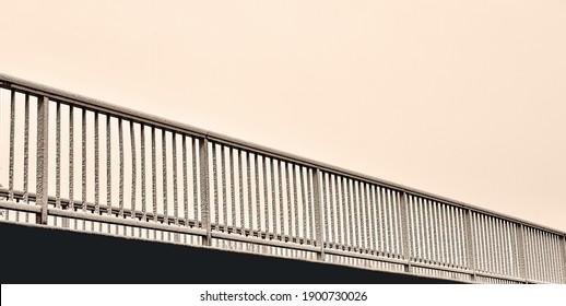 Bridge across the street. Detail.