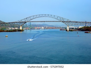 The bridge of the Americas is a bridge over the Panama canal The bridge of the Americas is a road bridge in the Republic of Panama that crosses the Pacific approach to the Panama canal.