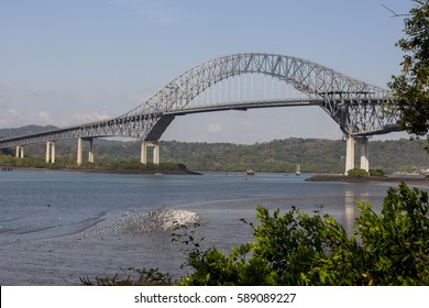 The bridge of the Americas is a road bridge in the Republic of Panama that crosses the Pacific approach to the Panama canal.