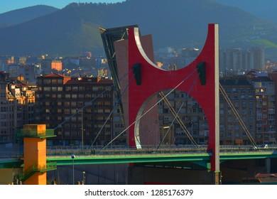 Bridge background HDR