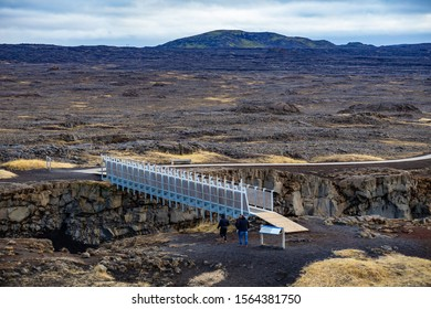Bridge between two continents Europe and Nort America