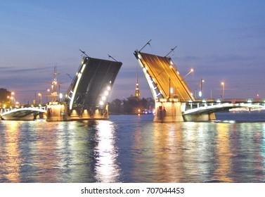 bridge bridges at night