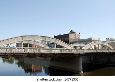 bridge in Cambridge, Ontario