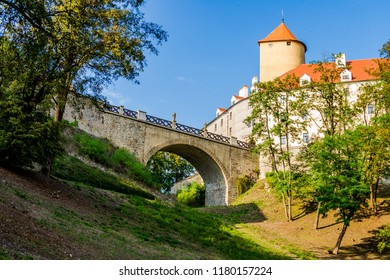 The bridge of the Veveří Castle