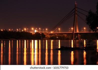 The bridge in the city