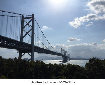 Bridge is in the city