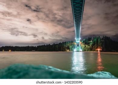 Bridge city water steel structure