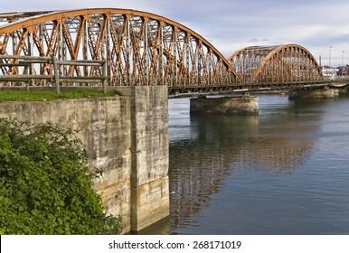 Bridge of Colindres, Cantabria, Spain