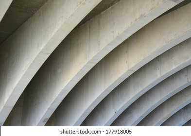 Bridge Concrete Design Ceiling