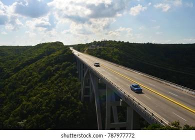 A bridge in Cuba