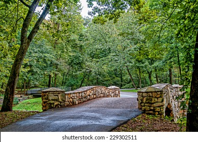 Bridge Dogwood Canyon Park Nature Park-Branson, Missouri