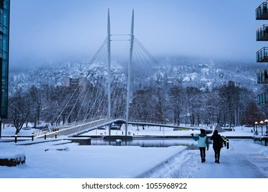 Bridge in Drammen Norway