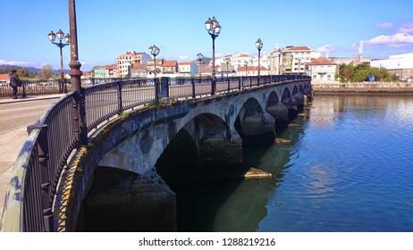 "Bridge ""El Burgo"" in Pontevedra, Spain"