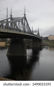 Bridge and embankment in Tver