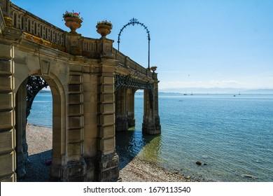 Bridge in Friedrichshafen on Lake Constance