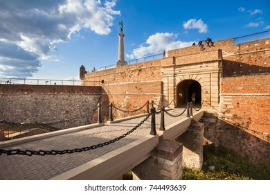 Bridge and gate at Kalemegdan Fortress, Belgrade, Serbia