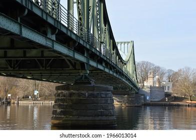 Bridge Glienicker Bruecke in Spring, Berlin - Brandenburg