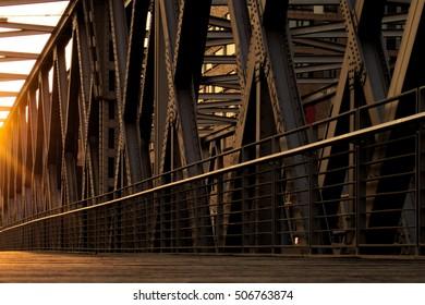 bridge at Hamburg
