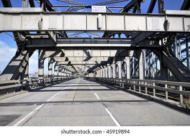 Bridge in Hamburg Germany.