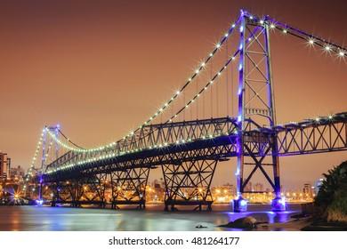 bridge Hercilio luz