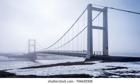 bridge Iceland reykjavik road