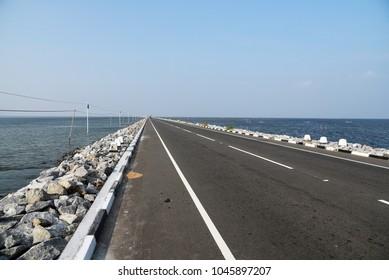 Bridge to Jaffna,Sri Lanka