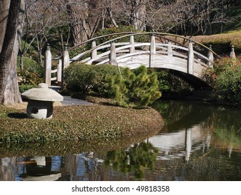 Bridge at the Japanese Gardens
