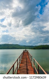 bridge in lake