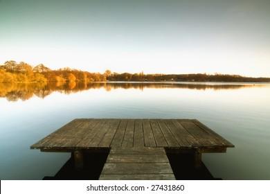 the Bridge to the lake