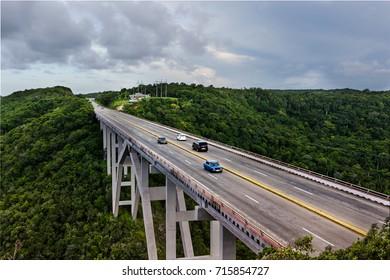 Bridge Leading into Matanzas in Cuba