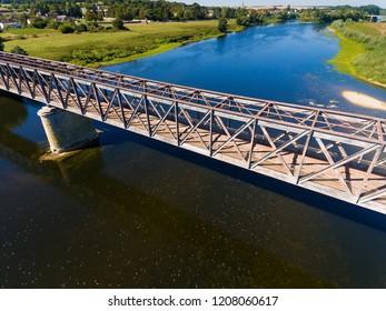 Bridge in L'Ile-Bouchard, Indre-et-Loire, Centre-Val de Loire, France