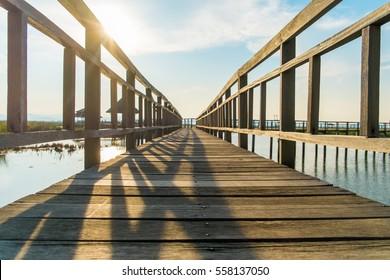 The bridge is lonely