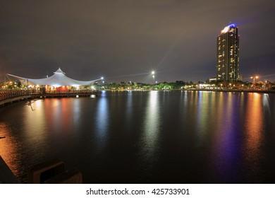Bridge love,,Ancol beach ,Jakarta City indonesia