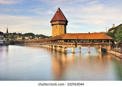 The bridge of Lucerne